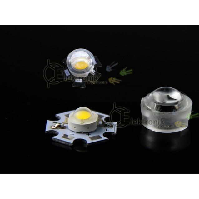 ES-power led lens 90 derece 13mm