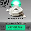 LED 5W Yeşil 510nm-530nm Bridgelux